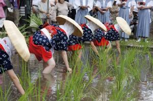 伊佐須美神社 御田植祭