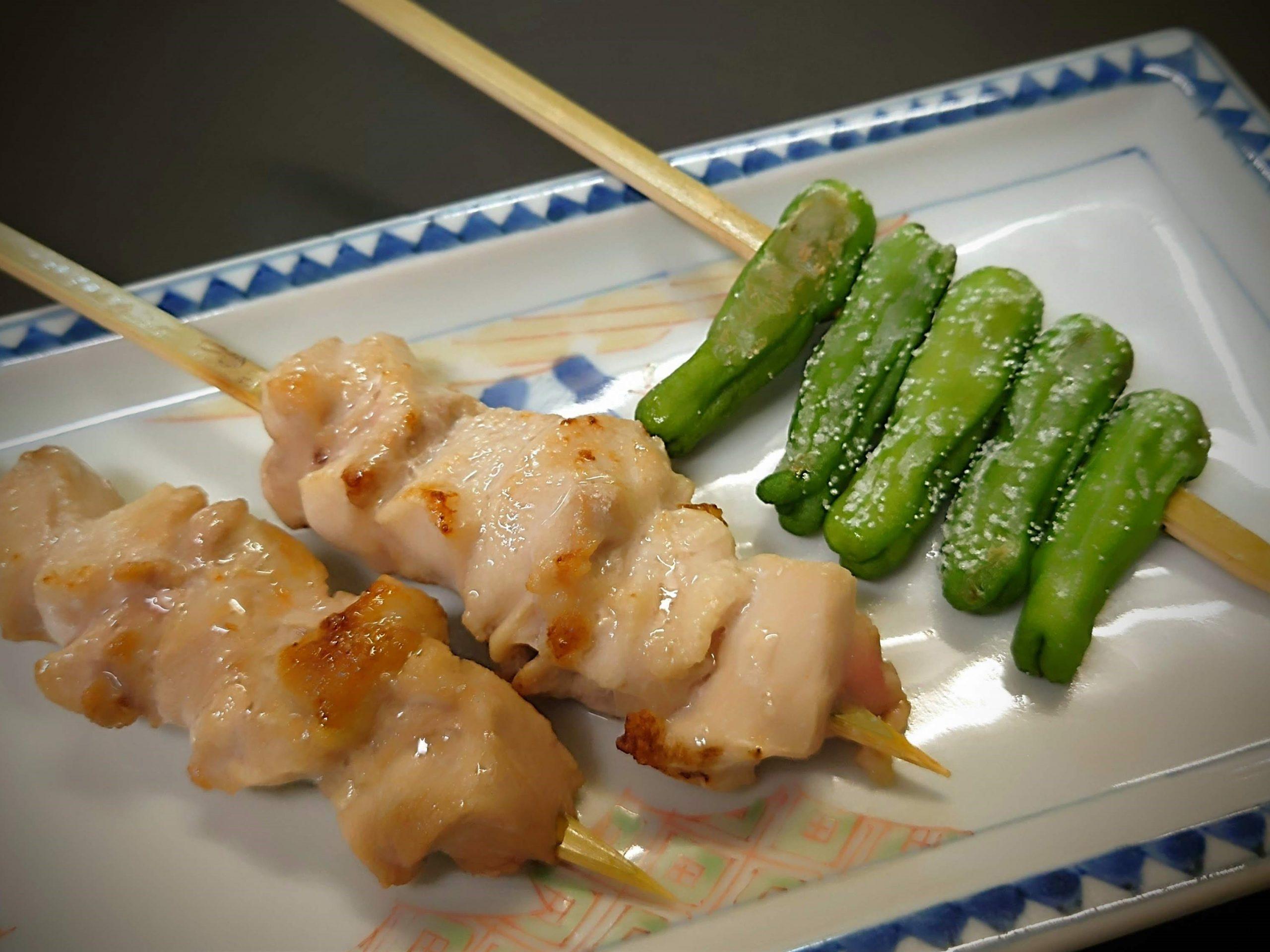 『会津地鶏』や『川俣シャモ』の串焼きもおすすめです♪